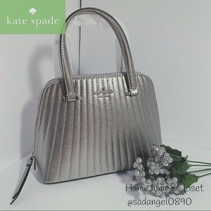 KATE SPADE PATTERSON DR QUILTED SM SOME SATCHEL